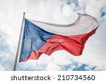 Czech Republic Flag Against...