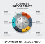 business options vector. modern ...