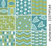 retro seamless pattern tiles | Shutterstock .eps vector #210749164