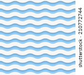 seamless wave pattern | Shutterstock . vector #210772744