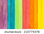 colorful wood plank texture... | Shutterstock . vector #210775378