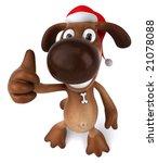 santa dog | Shutterstock . vector #21078088