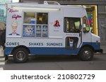 new york  april 27  ice cream...   Shutterstock . vector #210802729