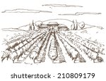 hand drawn illustration of a... | Shutterstock .eps vector #210809179