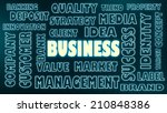 business related tags cloud   Shutterstock . vector #210848386