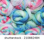 colorful sewing thread | Shutterstock . vector #210882484