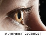 Women Eye Closeup