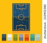 flat design  playing field | Shutterstock . vector #210902380