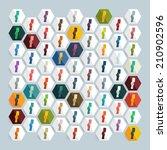 flat design  card | Shutterstock . vector #210902596
