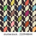 seamless vector geometric... | Shutterstock .eps vector #210948844