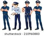 illustration of the four... | Shutterstock .eps vector #210960883