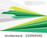 dynamic art | Shutterstock .eps vector #210969340
