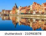 cityscape of gdansk in poland | Shutterstock . vector #210983878