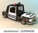 the car is designed for police | Shutterstock . vector #210984838