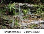 Waterfall Cascades  Blue...