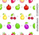 seamless pattern with colorful... | Shutterstock . vector #211054024