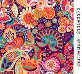 seamless pattern | Shutterstock . vector #211061173
