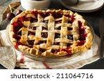 Delicious Homemade Cherry Pie...