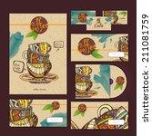 coffee concept design....   Shutterstock .eps vector #211081759