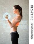 fitness  sport  training ... | Shutterstock . vector #211124218