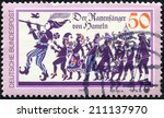 Germany   Circa 1978  A Stamp...