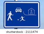 road traffic children beware... | Shutterstock . vector #2111474