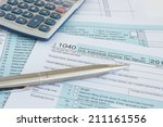 united states federal income... | Shutterstock . vector #211161556