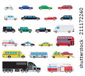 the collection of simple and... | Shutterstock .eps vector #211172260