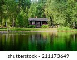 Cottage By The Lake In Rural...