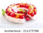Fruit  Berry Jelly And Yogurt...