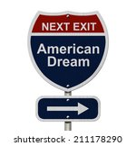 American Dream This Way  Blue...