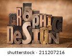 Graphic Design Words Written...