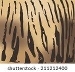 tiger fur texture | Shutterstock .eps vector #211212400