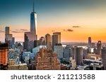 Lower Manhattan Skyline At...