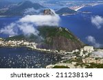 sugarloaf mountain and harbor ... | Shutterstock . vector #211238134