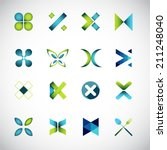 abstract icons based on the...
