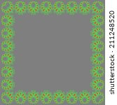 rectangular frame made from... | Shutterstock .eps vector #211248520