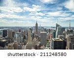 new york city manhattan midtown ...   Shutterstock . vector #211248580