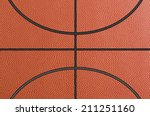 Closed Up View Of Basketball...