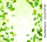 summer or spring natural... | Shutterstock .eps vector #211274710