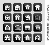 houses | Shutterstock .eps vector #211284928