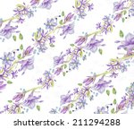 floral background with... | Shutterstock . vector #211294288