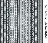 border decoration elements... | Shutterstock .eps vector #211348693