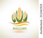 corn vector symbol | Shutterstock .eps vector #211362523