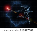 geometry of man series.... | Shutterstock . vector #211377589