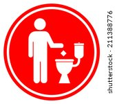 Do Not Litter In Toilet
