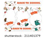 template for decoration and... | Shutterstock .eps vector #211401379