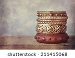 set of the bracelet | Shutterstock . vector #211415068