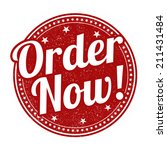 order now grunge rubber stamp... | Shutterstock .eps vector #211431484