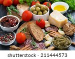 assortment of delicious... | Shutterstock . vector #211444573